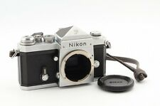 Excellent Nikon F Eye Level 35mm SLR Film Camera Silver Body
