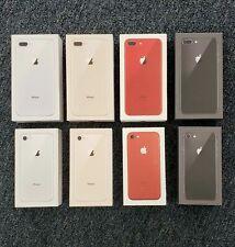 Apple iPhone 8 Plus 64GB Empty UK Box Red Rose Gold Black Silver