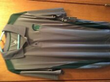 NWT  NCAA Michigan State Spartans Knights Apparel men's XL golf polo shirt
