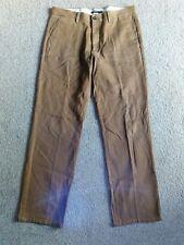 DOCKERS D1 Homme Marron Pantalon 34x32 (955B)