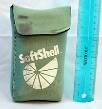 "Soft Shell Neoprene Lens Protective Pouch Case 6"" h x 3"" w x 1""d Made USA"