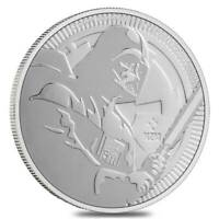 2020 - Niue Star Wars Darth Vader 1 oz .999 Fine Silver Coin BU IN STOCK!!