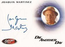 "James Bond 50th Ann: A177 Joaquin Martinez ""Old Man Factory"" Auto/Autograph"