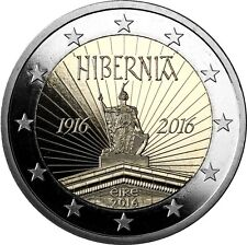 Irland 2 Euro Gedenkmünze 2016 PP 100 Jahre Osteraufstand im Etui