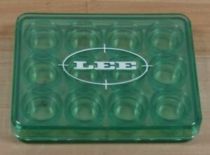 LEE 12 Shell Holder- Box-Green-discontinued