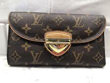 Louis Vuitton Brown Monogram Coated Canvas EUGENIE Wallet