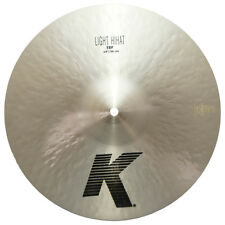 "Zildjian K0813 14"" Light Hihat Top Drumset Cymbal With Medium Thin Weight - Used"