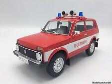 Lada Niva  Feuerwehr 1978 - 1:18 MCG    >>NEW<<