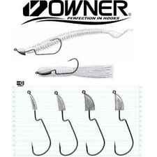 Offset Jig Head Owner JH 43 gr 5 3 Hook 3/0 Ami per siliconici pesca Bass