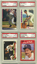 1984 Topps - 1993 SP Mattingly 4 Card Lot - 3 PSA 10, 1 PSA 8.5 - Free Shipping