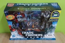 Transformers FE PRIME First Edition Optimus Prime vs Megatron DVD (MISB)