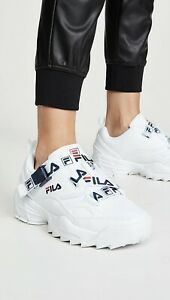FILA Fast Charge White Sneakers Shoes Women's Size 9 $75