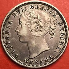 1858 Canada 20 Cents - VF - Lot#3290
