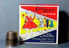 Dollhouse Miniature 1:12  Candy Fashion Doll Box  1950s retro dollhouse girl toy