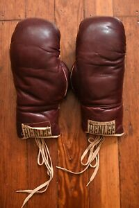Vintage 1940s Benlee Boxing Gloves w/Laces AFG-12 WWII Rare Good Condition