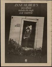"""1975 ANNE MURRAY """"HIGHLY PRIZED POSSESSION"""" ALBUM AD"""
