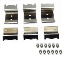 Hy5050 Duo brackets (6 pcs for set) for Char-Griller 95051 front/back 3001