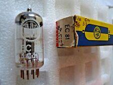 EC81 6r4 Valvo Gold Pins Tube Valve Old Stock 1 PC OT