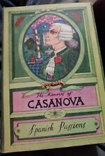 memoirs of casanova spanish passions hbdj machen