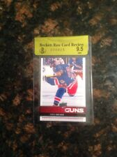 2012-13 Upper Deck Canvas Young Guns Chris Kreider RC-Beckett Raw-9.5 - Gem Mint