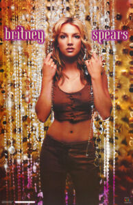 POSTER : MUSIC : YOUNG BRITNEY SPEARS - BEADS -  FREE SHIPPING ! #9039    RP65 i