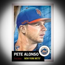 Topps Living Set Card #176 Pete Alonso. Free Shipping &*Price Guaranteed