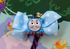 Thomas The Tank Engine & Friends Train Inspired Girls Toddler Handmade Hair Clip
