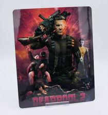 DEADPOOL 2 - Glossy Fridge / Bluray Steelbook Magnet Cover (NOT LENTICULAR)