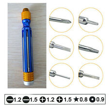 6 in 1 Screwdriver Repair Tool Kit For Mobile Phone/iphone 5/5S/5C 4/4S Samsung