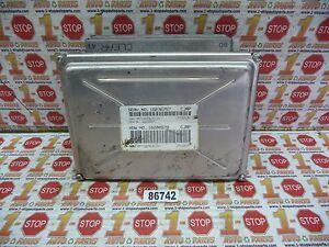 1998 98 CHEVROLET LUMINA ENGINE COMPUTER ECU ECM MODULE 16236757 CJRP OEM