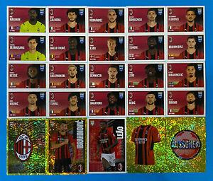 Figurine Panini Fifa 365 2021-22 2022 Team Completo MILAN