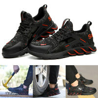 Men Safety Shoes Anti-smashing Anti-piercing Breathable Deodorant Work Shoes