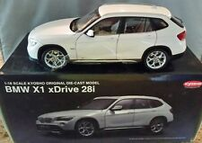 Kyosho 1:18 BMW X1 xDrive28i Mineral white Die-cast Metal Model NEW