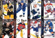 U PICK EM LOT 2015-16 Upper Deck Base collection cards Any 10 for $1 SEE LIST