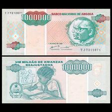 Angola 1 Million (1,000,000) Kwanzas, 1995 P-141, UNC