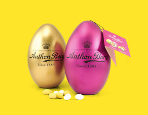 Anthon Berg Easter Eggs Almond and Marzipan 2x300g 2 Luxury chocolate Eggs