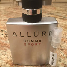 Chanel Allure Homme Sport EDT 10ML Glass Decant Sample