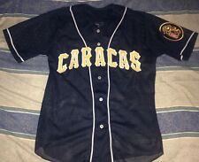 Leones del Caracas Venezuela Baseball Jersey Shirt Size Medium