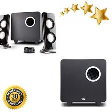 Cyber Acoustics 62W 2.1 Stereo Speaker w/ Subwoofer Great for multimedia laptop