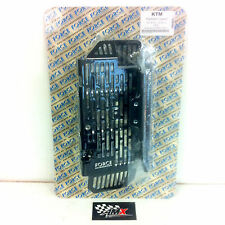 Force Accessories radiator guards black Husaberg all 2013