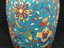Ceramique Cloisonné Totai Japanese Vase Antique Japon