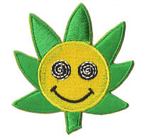 Ecusson patche transfert thermocollant Smiley tournesol patch