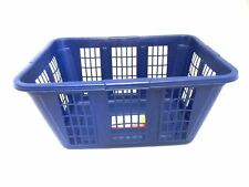 RUBBERMAID 2965-85 LAUNDRY CLOTHES BASKET BLUE NEW 1.6 BUSHEL
