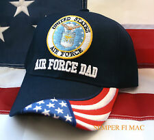 US AIR FORCE DAD FATHER HAT WOWAFH GRADUATION PROMOTION AFB BOOT CAMP BASIC GIFT
