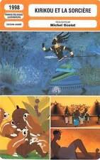 FICHE CINEMA : KIRIKOU ET LA SORCIERE - Ocelot 1998 Kirikou and the Sorceress