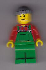 Lego City Minifigs - Overalls Farmer (New)