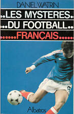 Livre les mystères du football français  Daniel  Watrin book