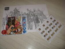 ONE PIECE FILM STRONG WORLD PIA + POSTER + CARDS ARTBOOK 2009 Eiichiro Oda JAPAN