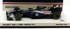 Minichamps WILLIAMS F1 Showcar 2012-Bruno Senna, échelle 1/43,