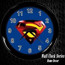 New Superman Rare Wall Clock Decor Gift
